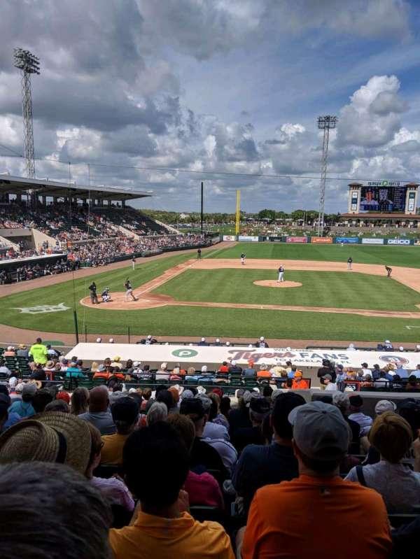 Joker Marchant Stadium, secção: 203, fila: P, lugar: 20
