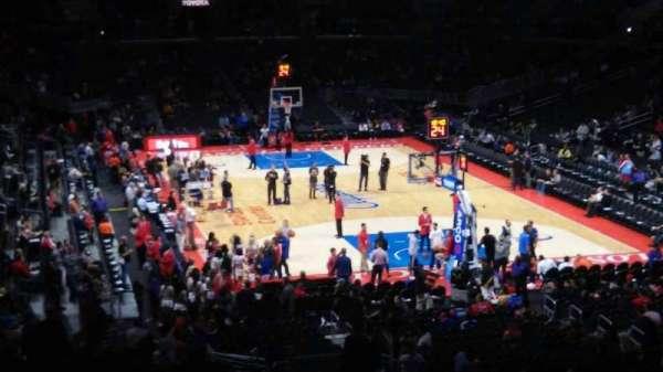 Staples Center, secção: 218, fila: 11, lugar: 13
