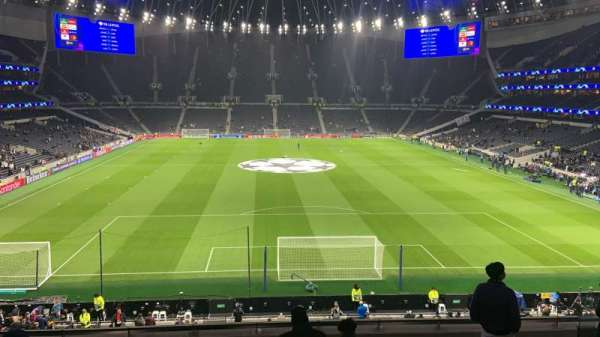 Tottenham Hotspur Stadium, secção: 420, fila: 8, lugar: 380
