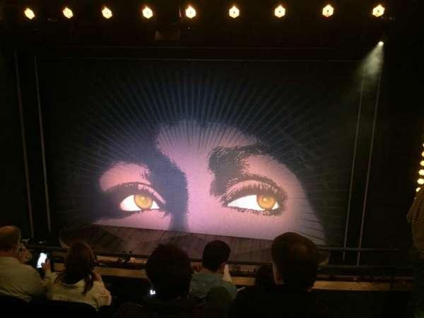 Lunt-Fontanne Theatre, secção: Mezzanine C, fila: D, lugar: 114