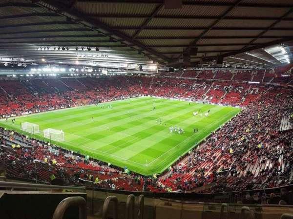 Old Trafford, secção: NE3425, fila: 22, lugar: 114