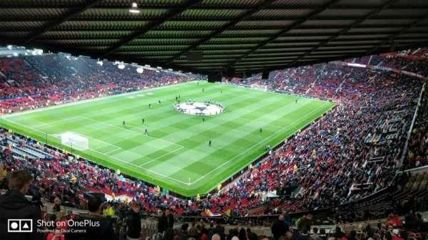 Old Trafford, secção: NE3425, fila: 25, lugar: 114