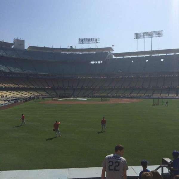 Dodger Stadium, secção: 304PL, fila: F, lugar: 15-16