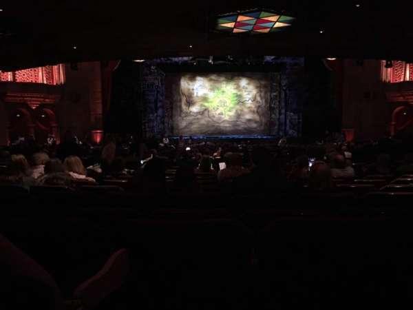 Fox Theatre (Atlanta), secção: Orchestra C, fila: LL, lugar: 110