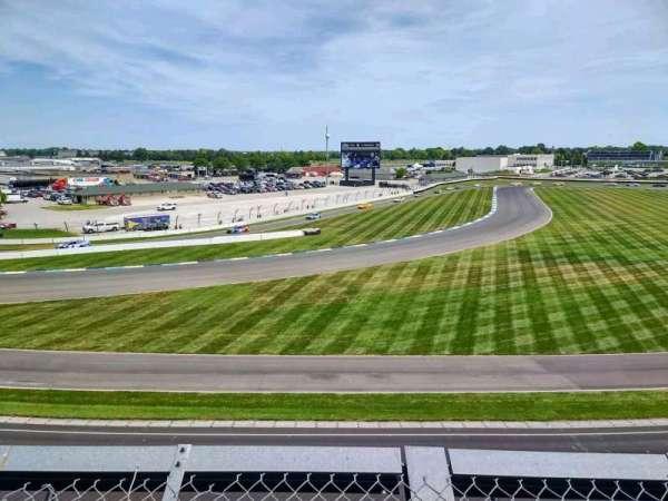 Indianapolis Motor Speedway, secção: E Penthouse 15, fila: A, lugar: 1
