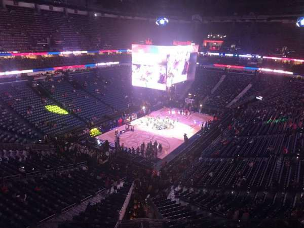 Smoothie King Center, secção: 305, fila: 7, lugar: 12