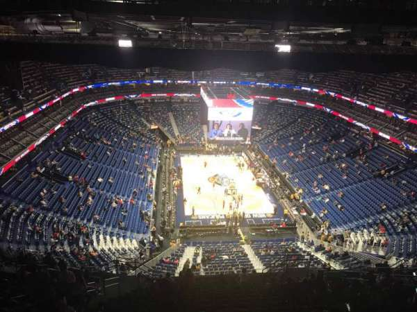 Smoothie King Center, secção: 325, fila: 20, lugar: 12
