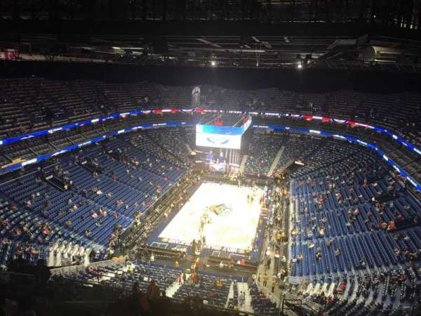 Smoothie King Center, secção: 323, fila: 19, lugar: 2
