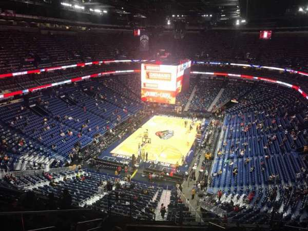 Smoothie King Center, secção: 322, fila: 13, lugar: 17