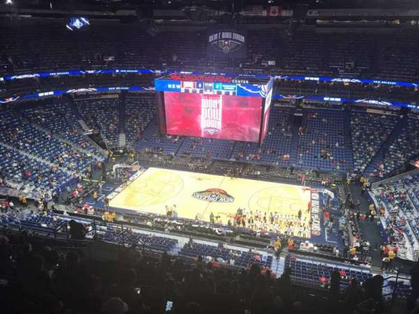 Smoothie King Center, secção: 315, fila: 15, lugar: 7