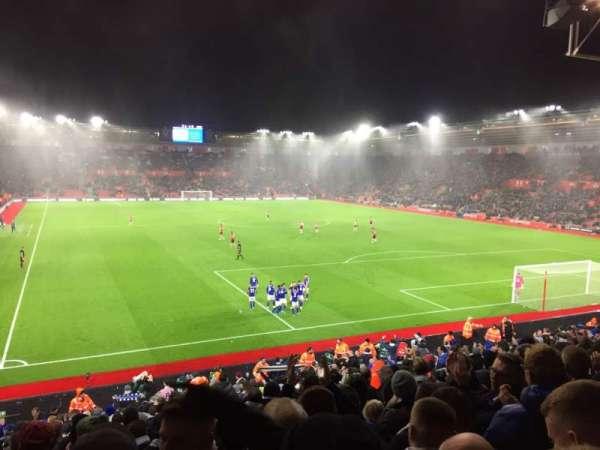 St Mary's Stadium, secção: 45, fila: Y, lugar: 1179