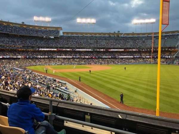 Dodger Stadium, secção: 164LG, fila: C, lugar: 1