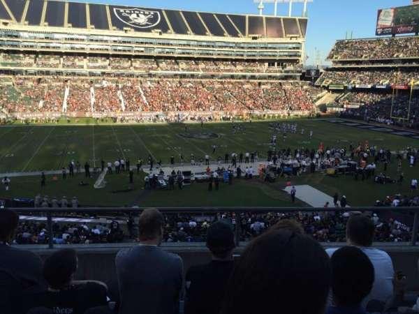 Oakland Coliseum, secção: 219, fila: 4, lugar: 3
