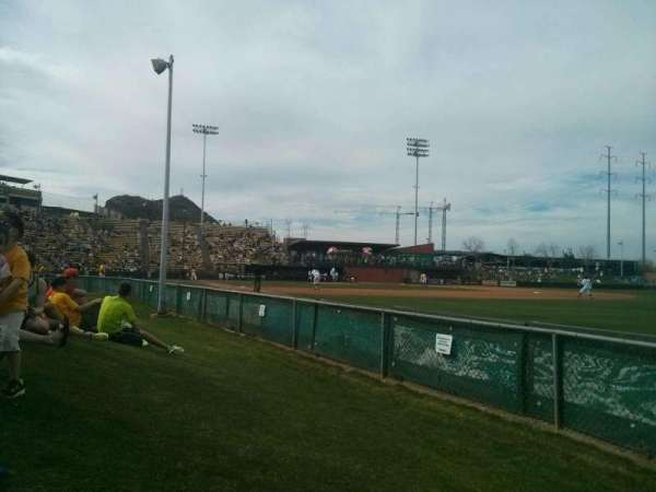 Packard Stadium, secção: lawn
