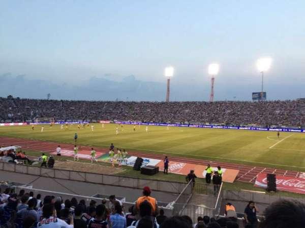 Estadio Tecnológico, secção: 823, fila: 18, lugar: 23