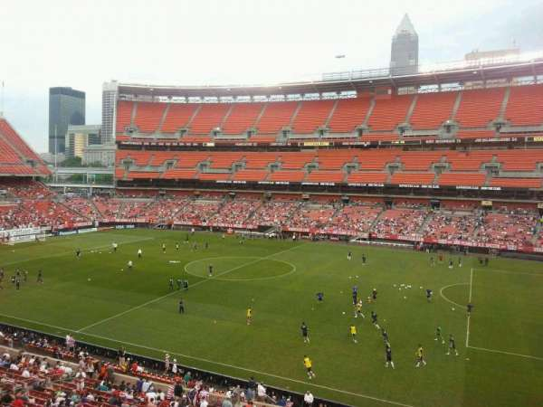 FirstEnergy Stadium, secção: 336, fila: 1, lugar: 18