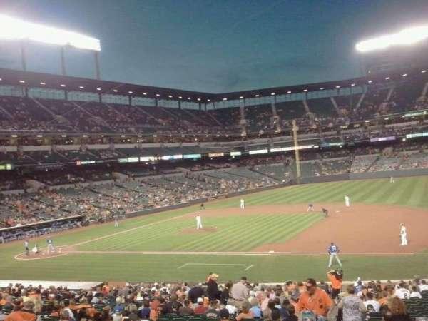 Oriole Park at Camden Yards, secção: 17, fila: 1, lugar: 2