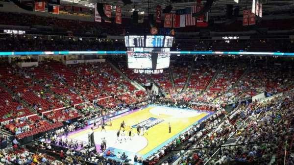 PNC Arena, secção: 209, fila: C, lugar: 2