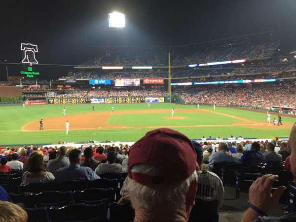 Citizens Bank Park, secção: 131, fila: 26, lugar: 2