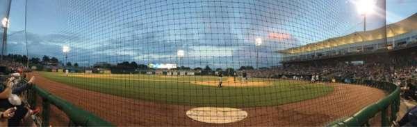 Arvest Ballpark, secção: 114, fila: A, lugar: 2