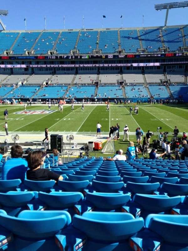 Bank of America Stadium, secção: 130, fila: 15, lugar: 21