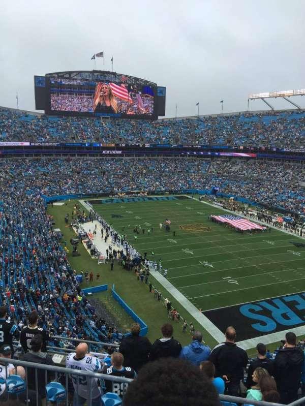 Bank Of America Stadium, secção: 533, fila: 4, lugar: 6