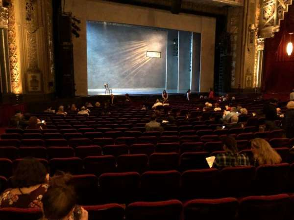 Hollywood Pantages Theatre, secção: Orchestra LC, fila: W, lugar: 313