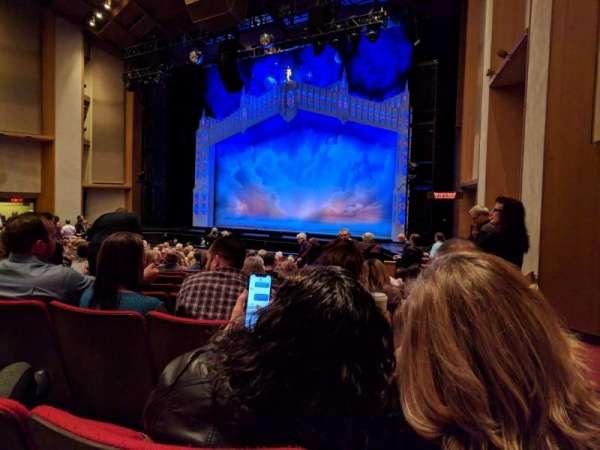 Sacramento Community Center Theater, secção: Orchestra, fila: N, lugar: 1