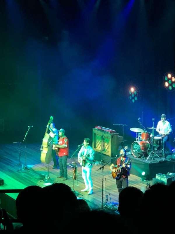 Ryman Auditorium, secção: BAL-9, fila: G, lugar: 9