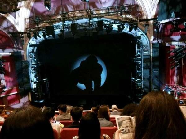 Broadway Theatre - 53rd Street, secção: Front Mezzanine RC, fila: F, lugar: 119