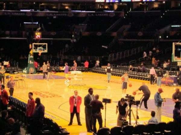 Staples Center, secção: 117, fila: 18