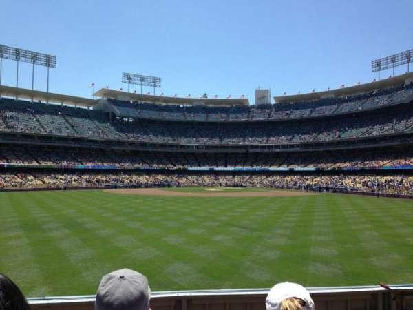 Dodger Stadium, secção: 311PL, fila: C, lugar: 8