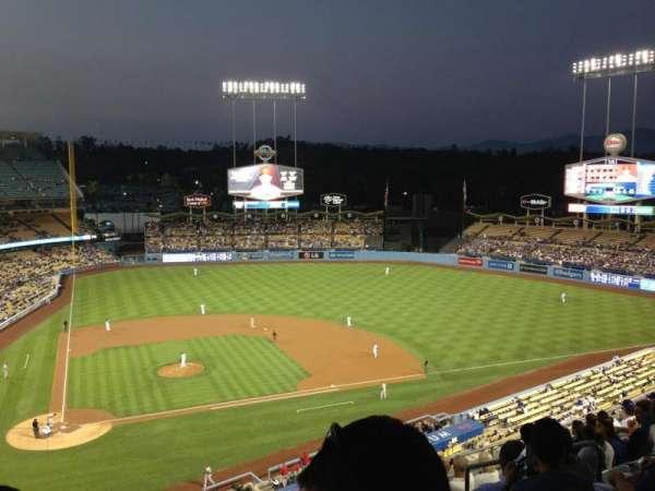 Dodger Stadium, secção: 8RS, fila: K, lugar: 15