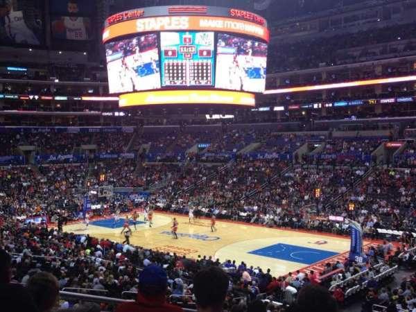 Staples Center, secção: PR2, fila: 7, lugar: 3