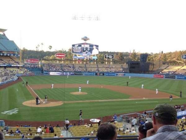 Dodger Stadium, secção: 116LG, fila: F, lugar: 3