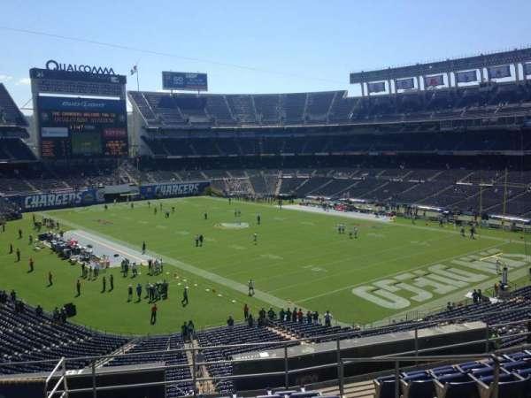 San Diego Stadium, secção: C15, fila: 10, lugar: 9