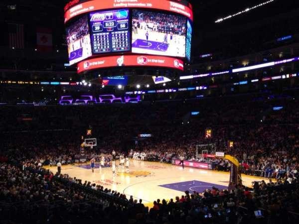 Staples Center, secção: 108, fila: 20, lugar: 10