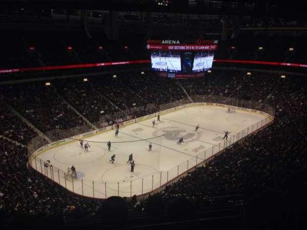 Rogers Arena, secção: 312, fila: 14, lugar: 108