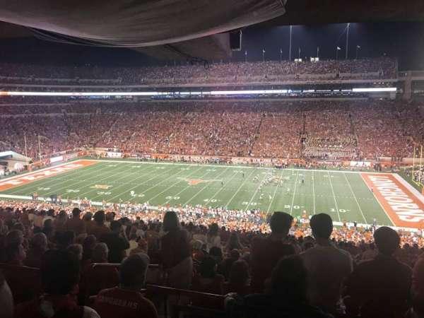 Texas Memorial Stadium, secção: 3, fila: 66, lugar: 4