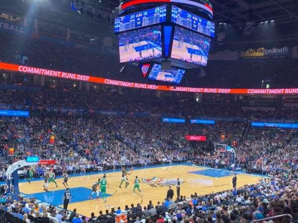 Chesapeake Energy Arena, secção: 118, fila: S, lugar: 13