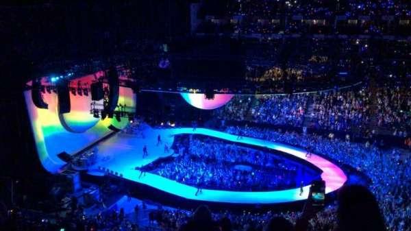 The O2 Arena, secção: 403, fila: G, lugar: 513