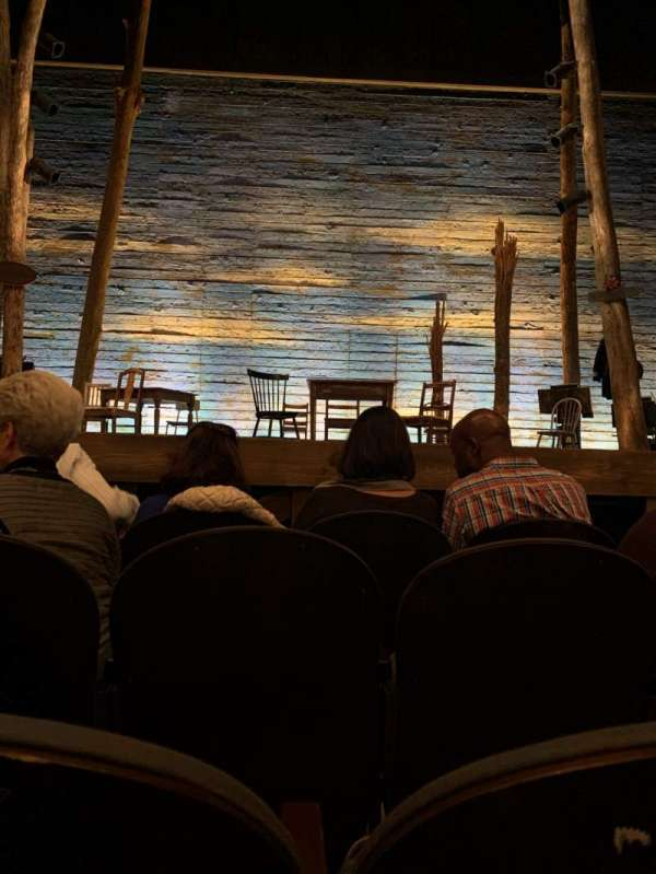 Gerald Schoenfeld Theatre, secção: Orchestra C, fila: C, lugar: 107