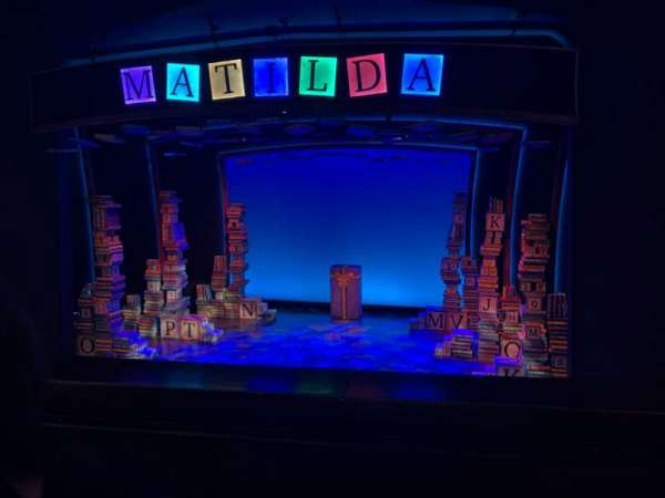 Walnut Street Theatre, secção: MZCNTR, fila: D, lugar: 101