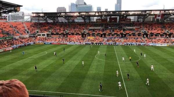 BBVA Compass Stadium, secção: 226, fila: J, lugar: 21