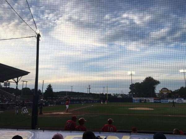 BB&T Ballpark at Historic Bowman Field, secção: D, fila: I, lugar: 2
