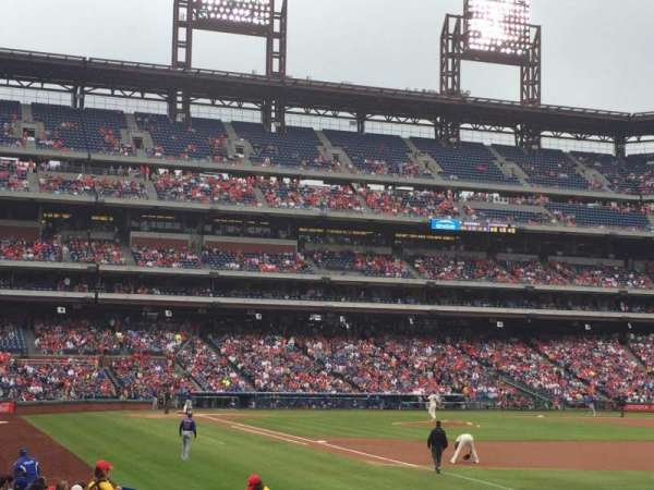 Citizens Bank Park, secção: 110, fila: 19, lugar: 3