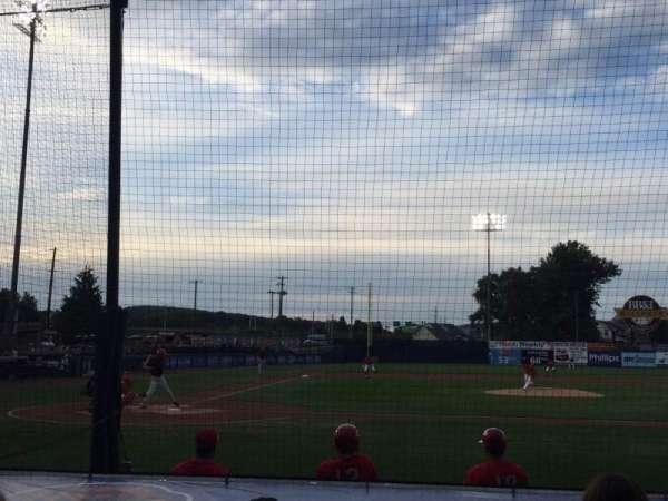 BB&T Ballpark at Historic Bowman Field, secção: D, fila: I, lugar: 4