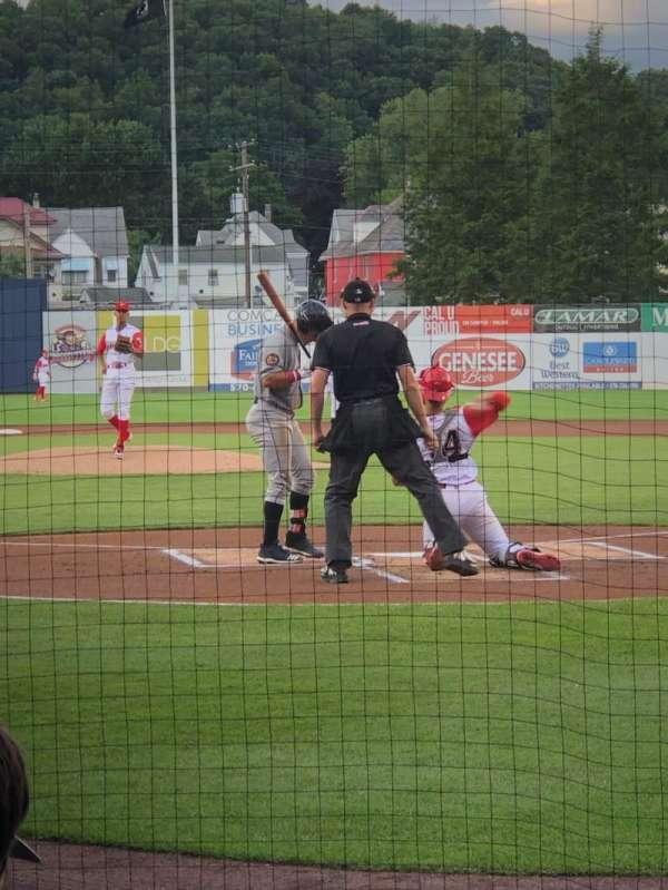BB&T Ballpark at Historic Bowman Field, secção: I, fila: G, lugar: 1