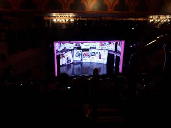August Wilson Theatre, secção: Mezzanine L, fila: N, lugar: 1