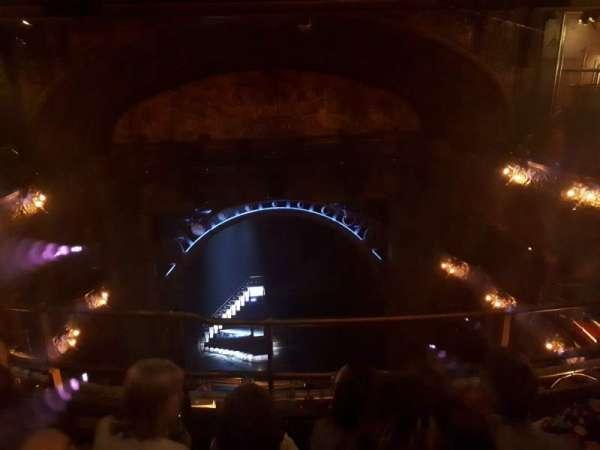 Palace Theatre (West End), secção: Balcony, fila: C, lugar: 17